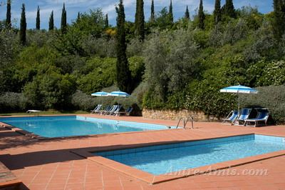 Appartement 4960: Appartement Montaione, Toscane, Italie